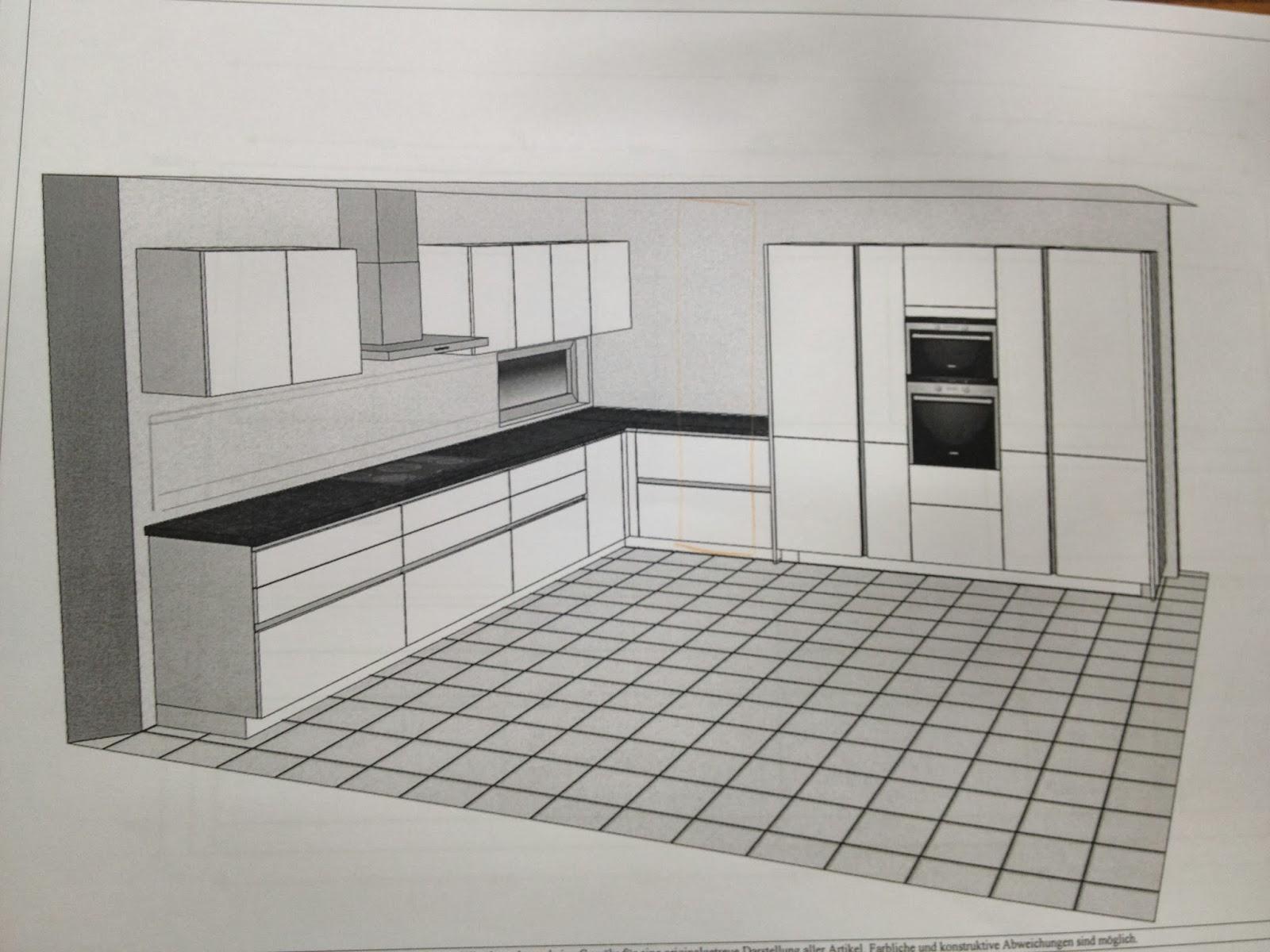 ♥ Unser Hausbau-Tagebuch ♥: Die Küche- erste Idee