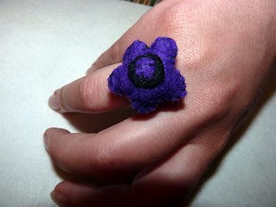 anillo fieltro