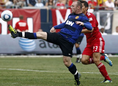 Wayne Rooney Chicago Fire vs Manchester United