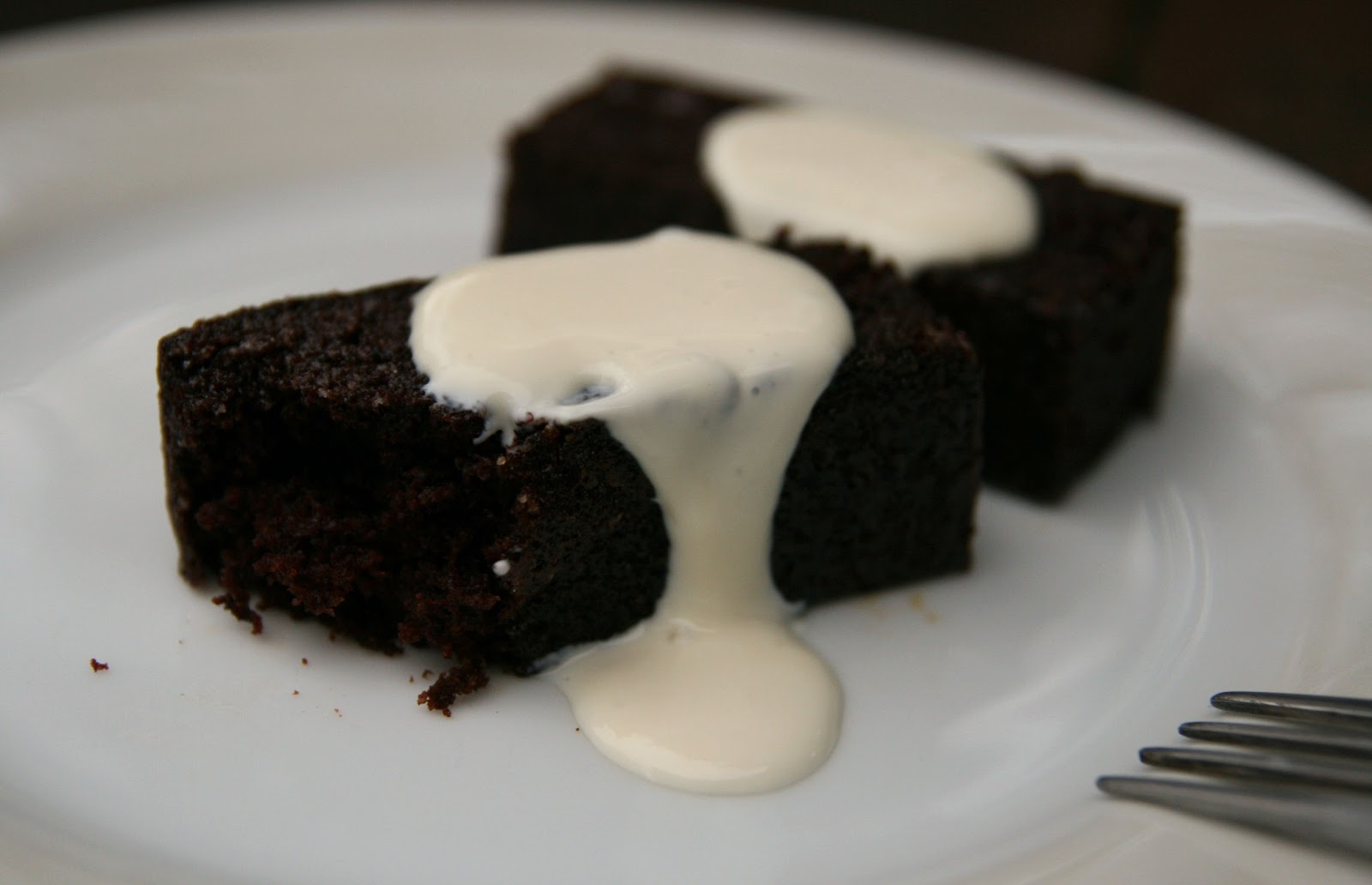 Chocolate-Juniper Cake With Milk Jam Creme Fraiche Recipe ...
