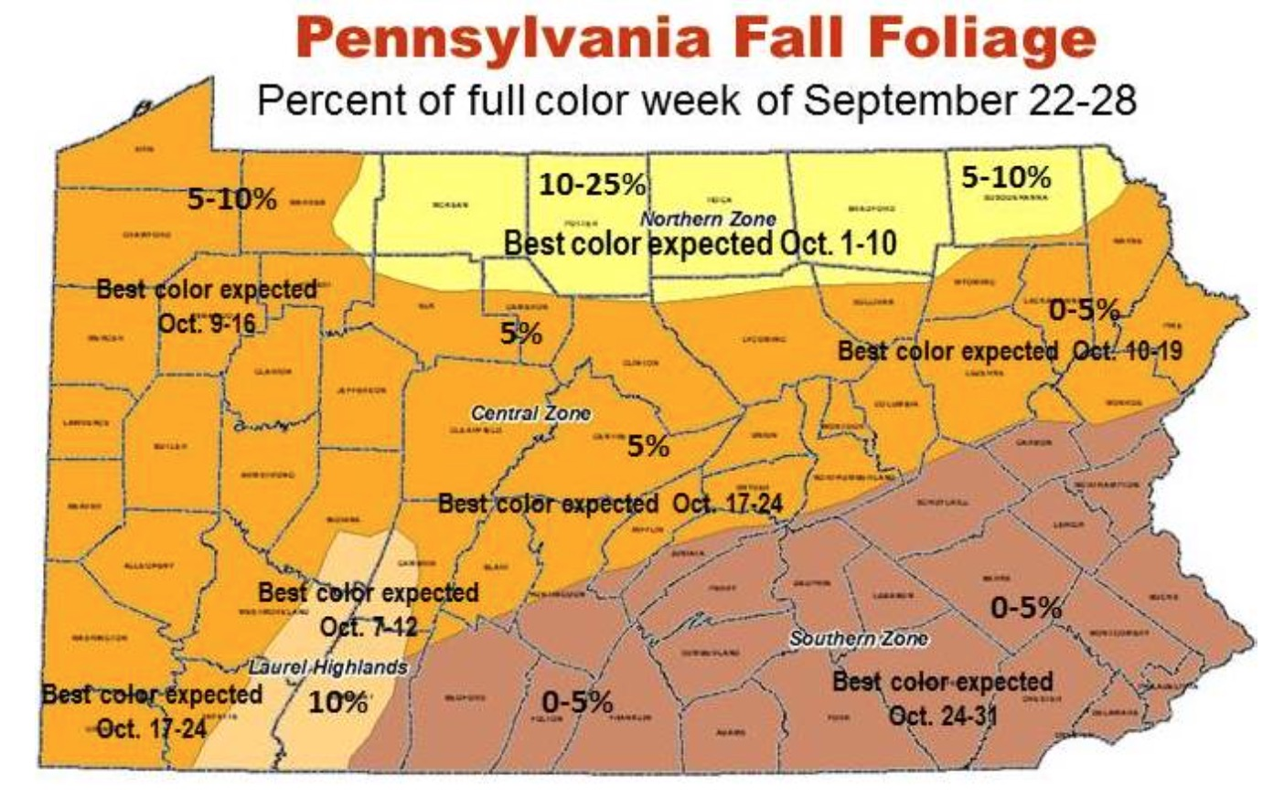 first fall foliage report shows peak html south america map plain