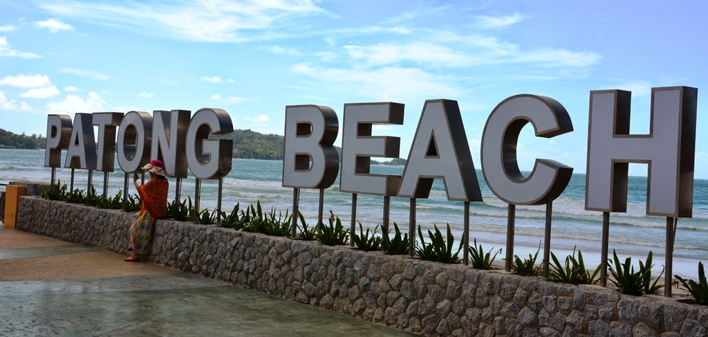 Patong Beach Phuket sign