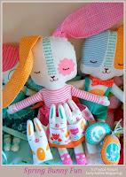 Χειροποίητα πάνινα κουκλάκια - Handmade fabric doll