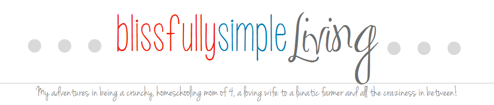 blissfully simple living