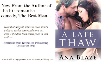 Release day: A Late Thaw by Ana Blaze