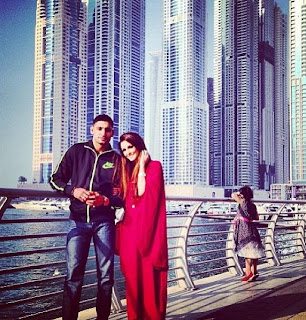 Boxer Amir Khan and Faryal Makhdoom best photo