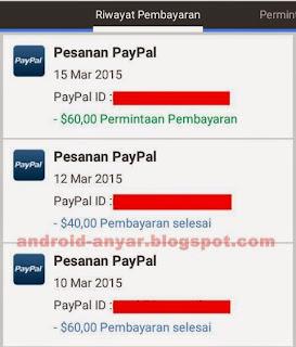 Gratis Dolar untuk PayPal terbaru