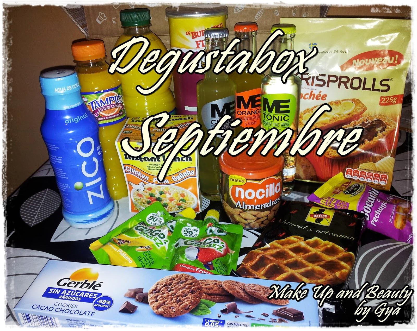 Degustabox Septiembre 2014