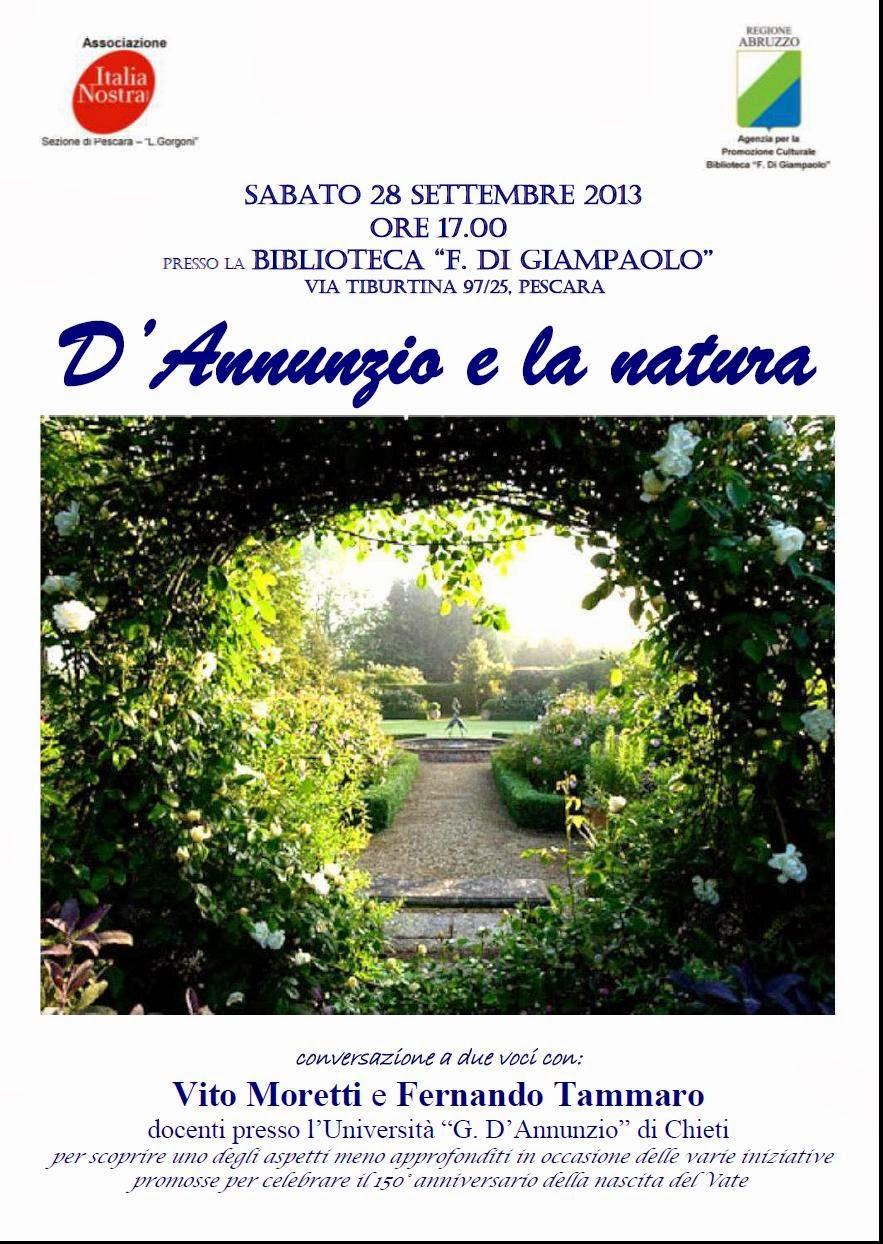 D'Annunzio e la natura: