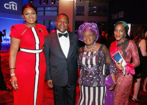 OMOTOLA JOLAIDE-EKEINDE SHINES AT TIME 100 GALA NIGHT