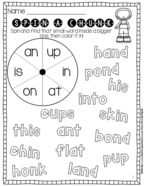 Starting Reading Workshop In Fun Way on Body Parts Picture Word Cards