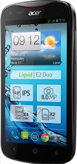 Acer Liquid E2, Hp Android QuadCore,hp android,hp quard core, Murah ACER Harga 2 jutaan