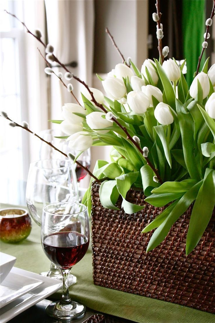Simple White Flower Arrangements Interior Affairs