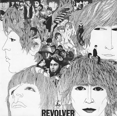 Revolver, 1966, artwork, Klaus Voormann.