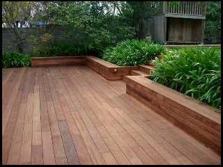 Contoh lantai kayu ruangan bahan solid