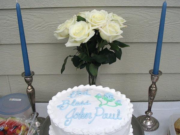Baptism Cake Link-Up