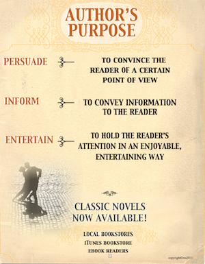 photo of Author's Purpose Definitions Poster, PDF, Ruth S., TeachersPayTeachers.com