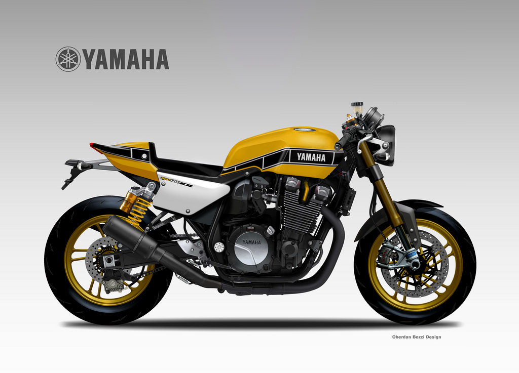 Racing caf design corner yamaha xjr 1300 kr by for Yamaha xjr 1300
