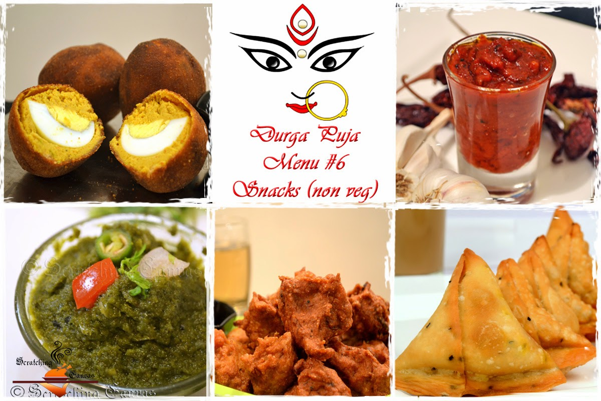 Durga pujor bhuribhoj bengali festival food menu roundup durga puja snacks non veg forumfinder Choice Image