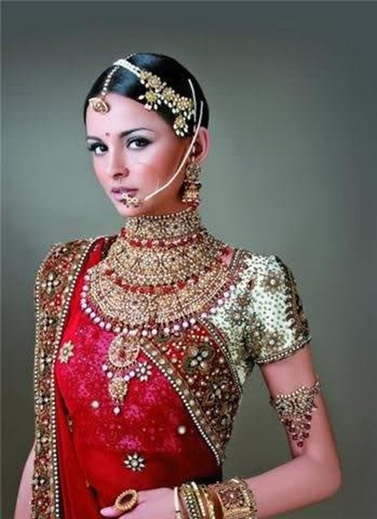 Bridal Makeup Ki Photo : MiX FasHioN: Pakistani Dulahan Dress Styles
