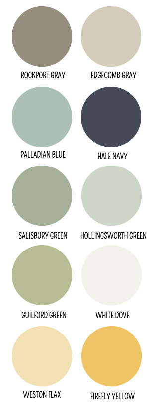 My Favorite Paint Colors