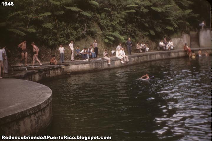 La piscina de agua natural de toro negro ayer y hoy for Piscina natural de puerto santiago