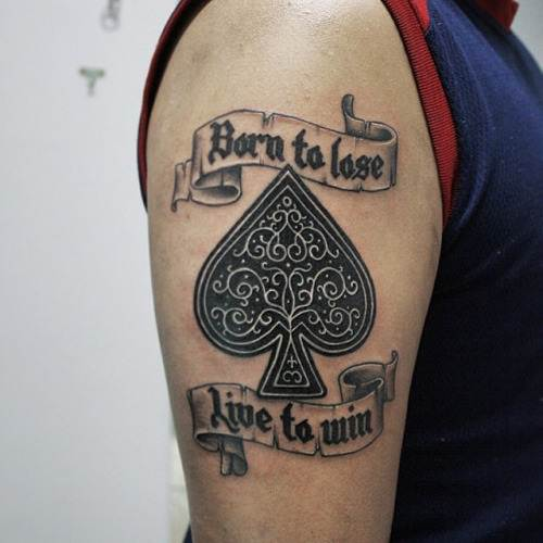Image Result For Born To Lose Tattoo