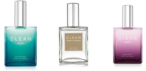 CLEAN perfumes