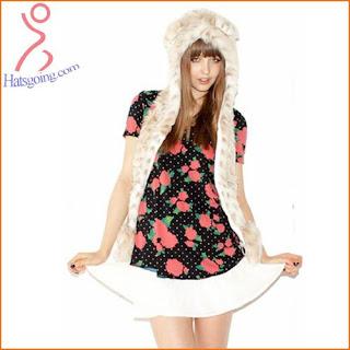 Snow Leopard spirit hoods