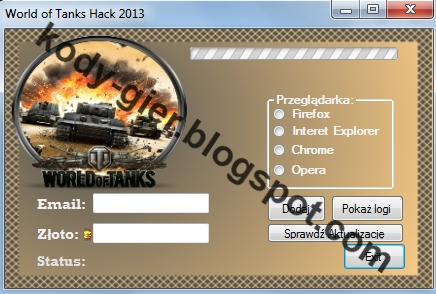 kody do gry World Of Tanks