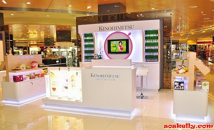 Kinohimitsu 1st Lifestyle Beauty Bar in Malaysia, Kinohimitsu, Kinohimitsu Beauty Bar, Kinohimitsu Malaysia, Kinohimitsu Collagen,  J'pan UV Bright, Beauty Drink, Collagen Men's, Parkson Imago, Kota Kinabalu, Parkson Pavilion, Kuala Lumpur, BG Diamond, Collagen Activ, Royal Bird Nest