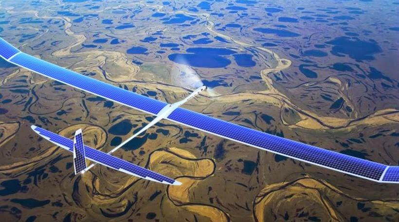 طائرات فايسبوك بدون طيار تنجح في أول اختبار