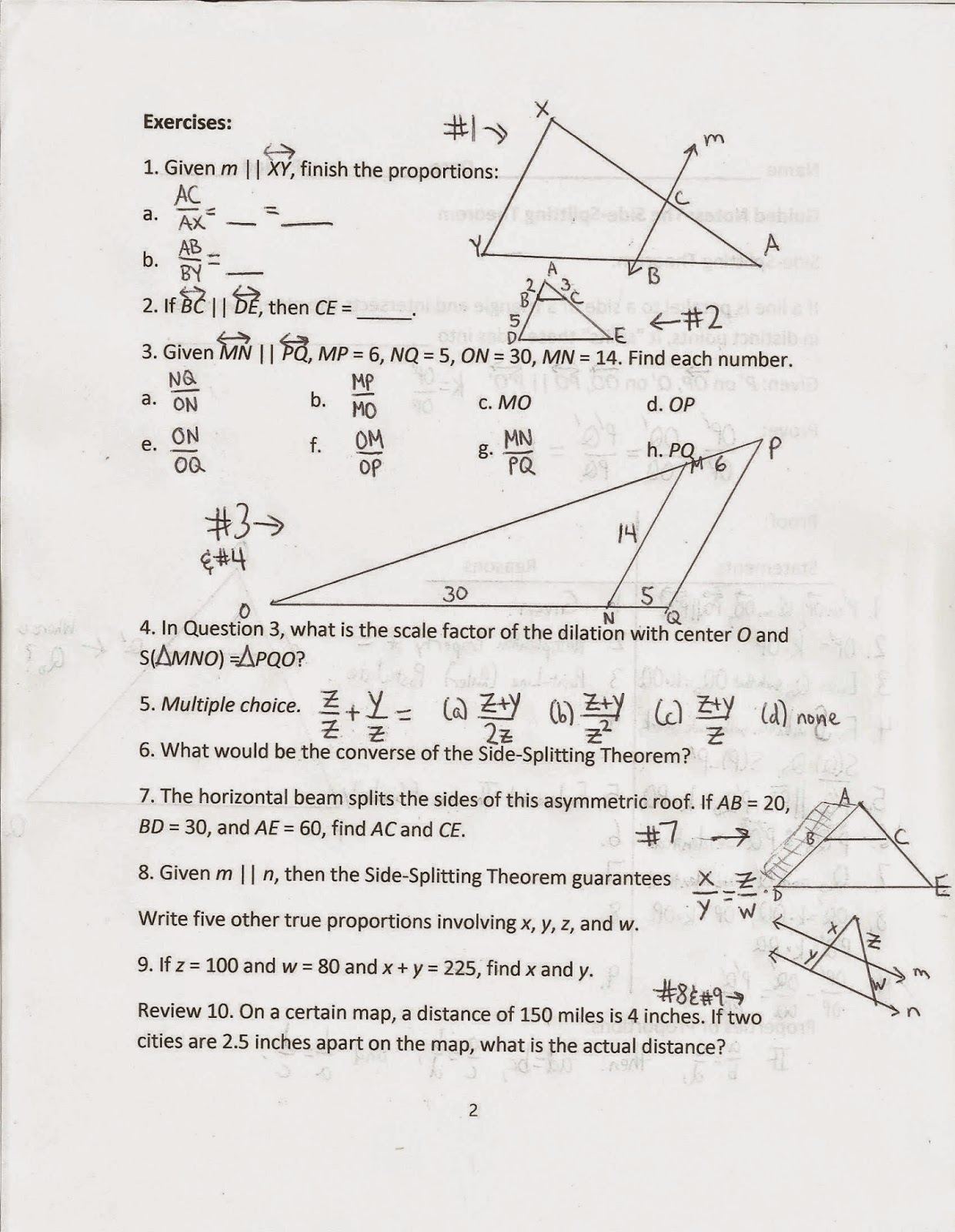 kung will continue with geometry paradoxes in his next lecture