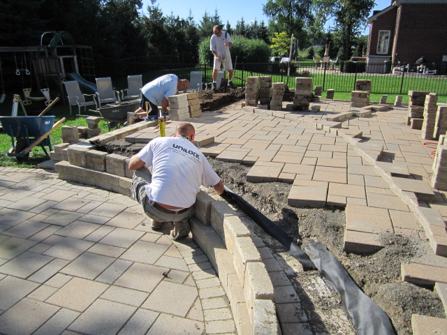 I Spelled Out A 2 Phase Plan That Would Be More Economically Feasible For  The Homeowner At This Time While Protecting The Rest Of The Raised Paver  Patio ...