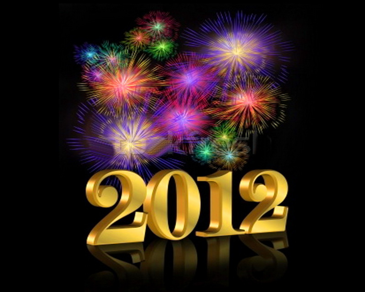 New Years Eve Fireworks Clipart