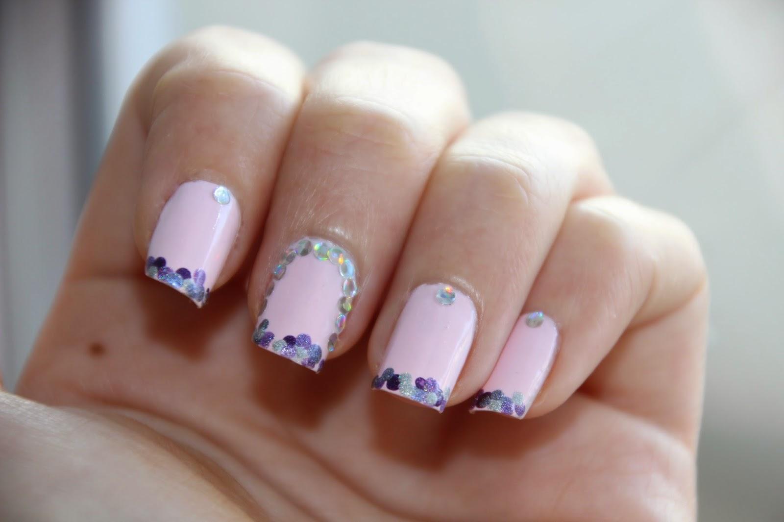 Nail Art Marathon -French manicure – JustAnAngel.net