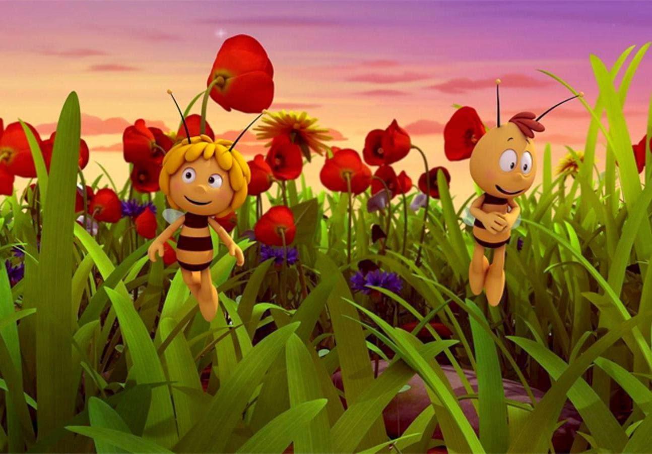 bee cartoon wallpaper