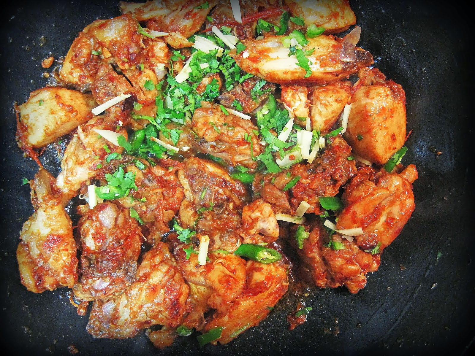Pakistani Food Chicken Karahi
