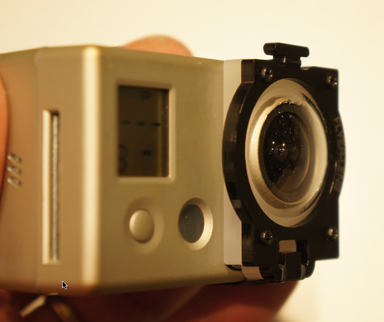 the LayerLens GoPro Lens Protection for GoPro 3 & 4
