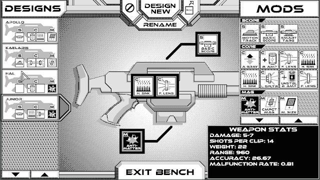 Rogue Invader se presenta como un 'roguelike' espacial con gráficos en blanco y negro