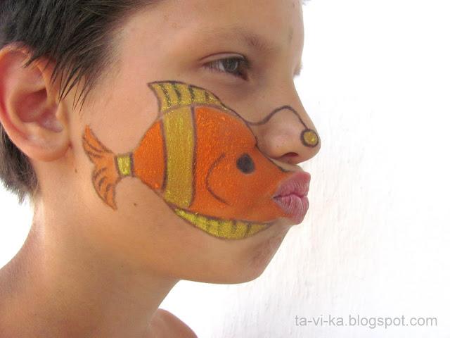 детский боди-арт children body-art