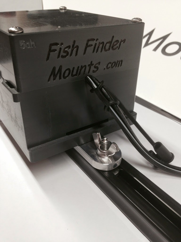 Fish finder and transducer mounting solutions kayak fish for Kayak fish finder mount