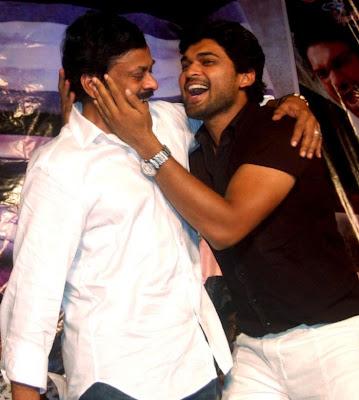 Chiranjeevi @ Rangam Telugu Movie 100 Days Celebration Event Stills Pics Photos film pics