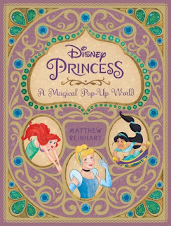 Disney Princess: A Magical Pop-Up World Book cxover