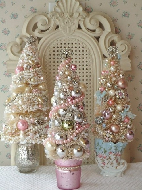 Pink Artificial Christmas Trees