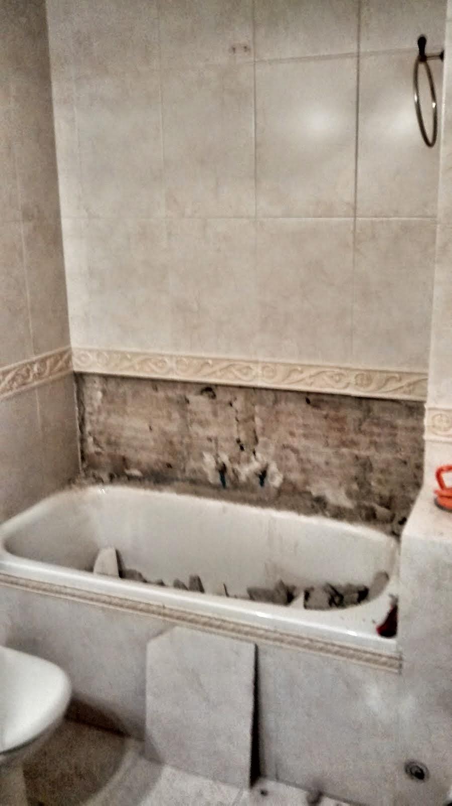 Baldosassa suelos porcel nicos imitacion madera - Quitar banera y poner plato de ducha ...
