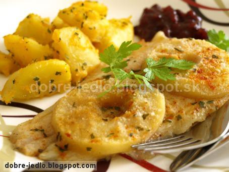 Rybie filé s jablkami - recepty