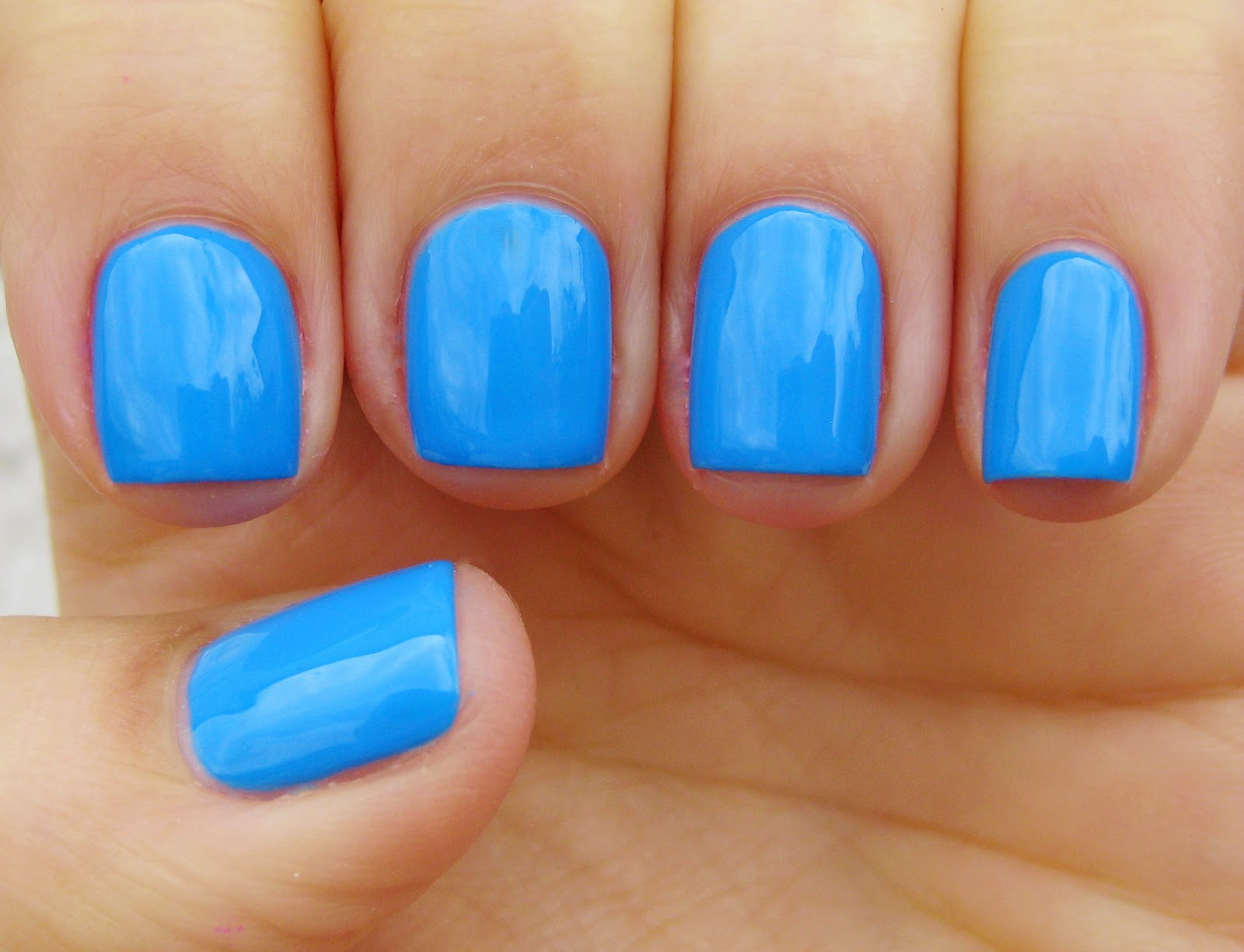 Models Own Festival Nail Polish Blue Skies