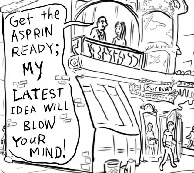 Silly Daddy Brain Business Comic by Joe Chiappetta panel 2