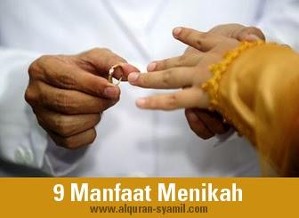 9 Manfaat Menikah